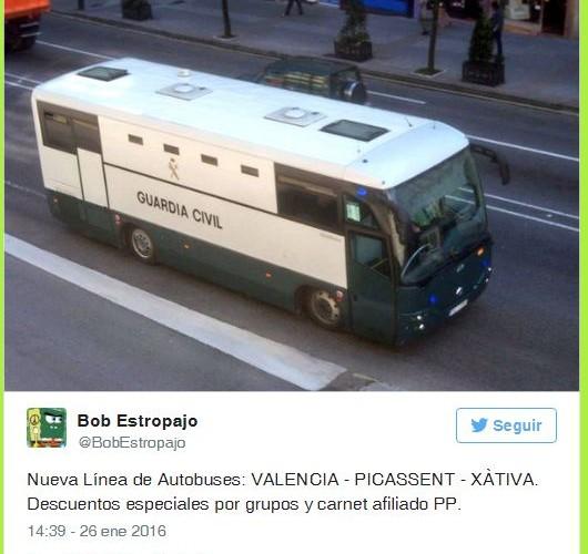 Nueva línea de autobuses Pepera