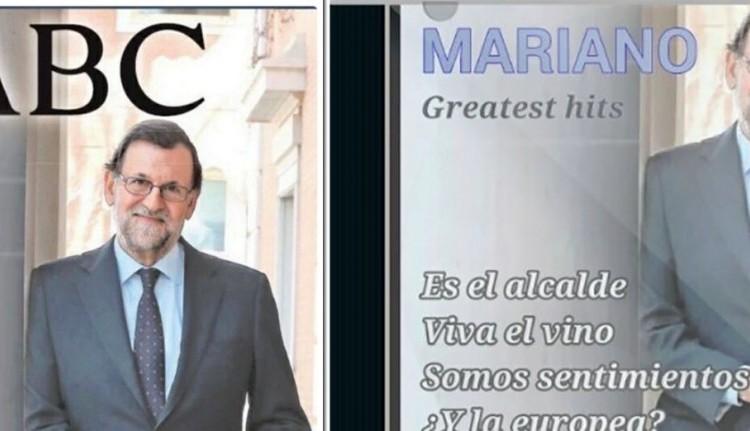 #Memesis: Mariano Rajoy posa para la portada del ABC… de los memes