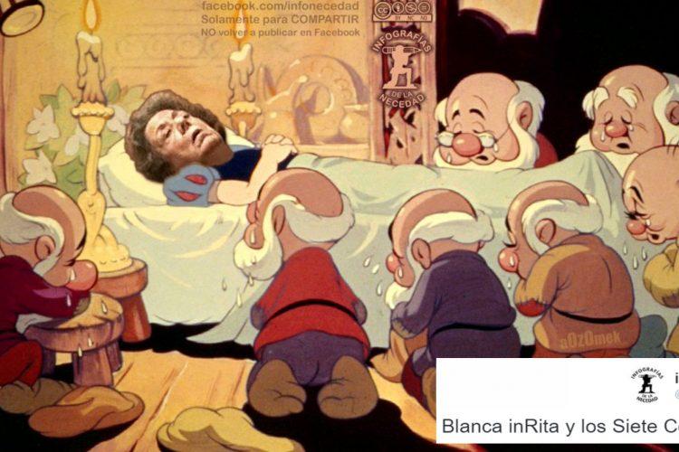 #Memesis: 20 Maneras de dormir en el Senado. Por Rita Barberá