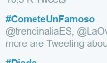 Los famosos más comestibles de Twitter en #CometeUnFamoso