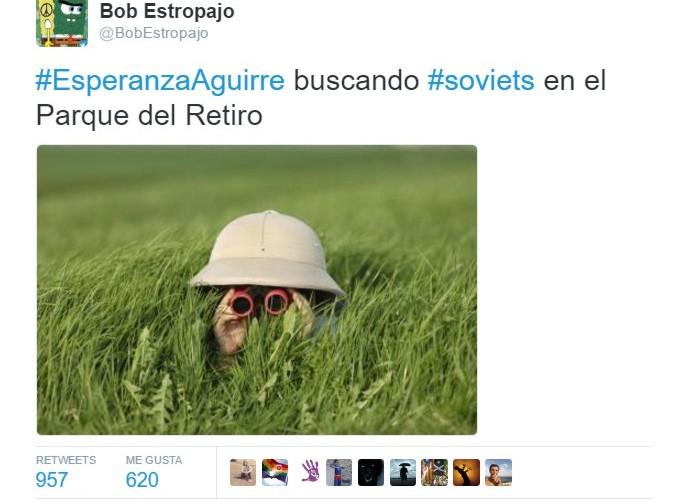 Cuando Aguirre buscaba soviets por Madrid