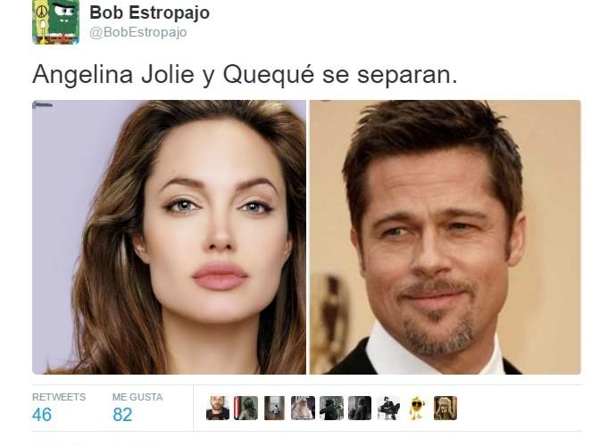 Angelina Jolie y Quequé se separan