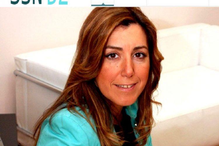Nueva web de Susana Díaz