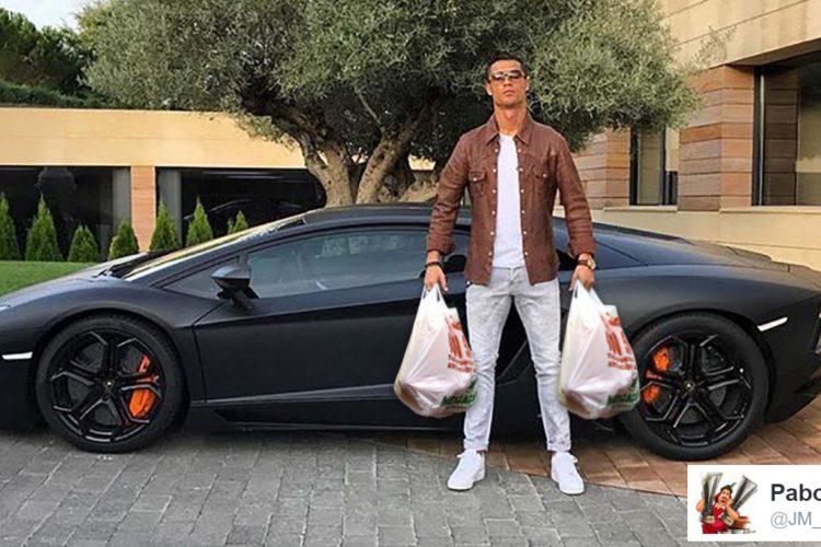 #Memesis: los memes de Cristiano Ronaldo y su nuevo 'buga'