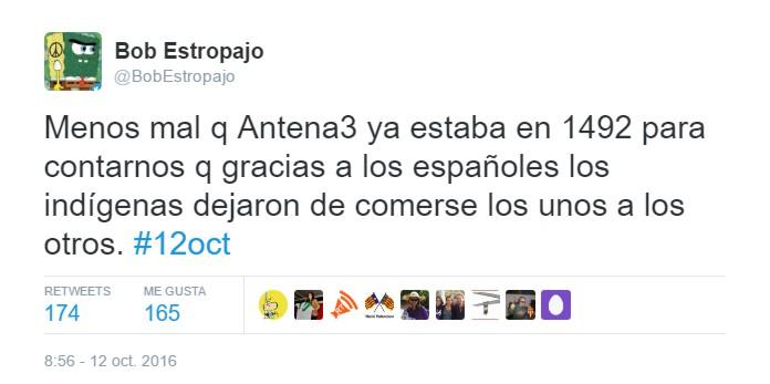 Menos mal que Antena 3 ya existía en el 1492