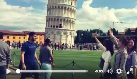 "PISA, la ciudad del ""Give me five"""