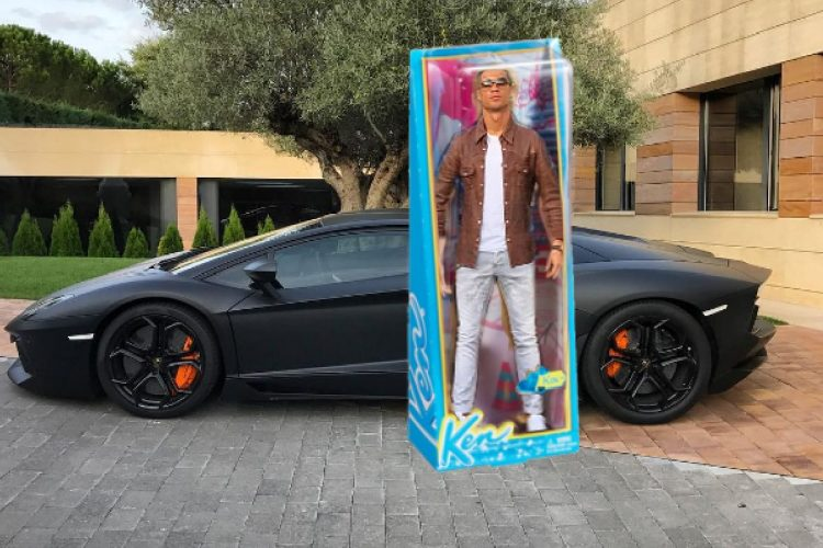 Los memes de Cristiano Ken Ronaldo presumiendo de coche