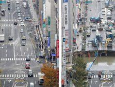 ¿Cómo reparar un gran agujero en una avenida en una semana cuando eres japonés?