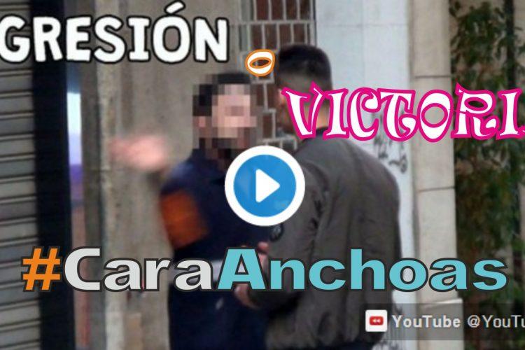 """""""Agresión o Victoria"""": memes y vídeos de versiones de #CaraAnchoas."""