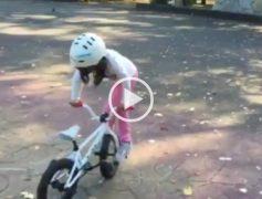 Menudo talento sobre 2 ruedas