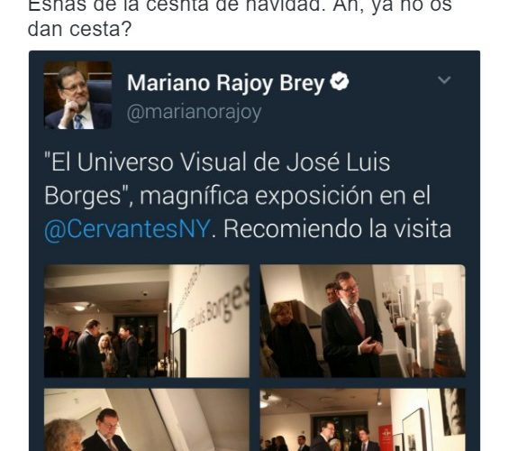 """Cuando a Mariano Rajoy se le """"borra"""" un tuit by @NoabrasPaz"""