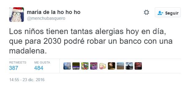 """""""Los niños tienen tantas alergias hoy en día…"""" by @menchubasquero"""