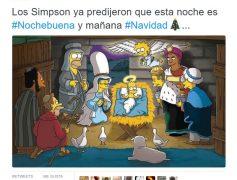 Los Simpson ya predijeron que esta noche es Nochebuena y mañana…