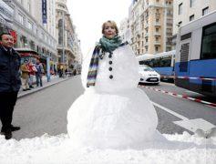 Esperanza Aguirre ante la Ola de Frío Polar