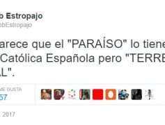 Un paraíso en la Tierra el de la Iglesia Católica Española