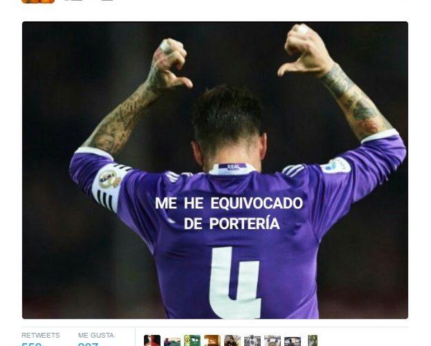 """Sergio Ramos: """"Me he equivocado de portería"""" by @__tuan__"""