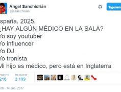España 2025. ¿Algún médico en la sala? by @asanchisan