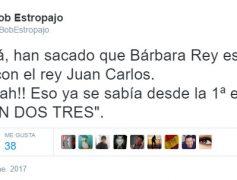 Mamá, han sacado que Bárbara Rey estaba liada con el rey Juan Carlos…