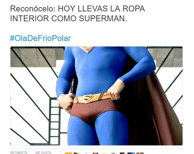 Reconócelo: hoy llevas ropa interior como Superman