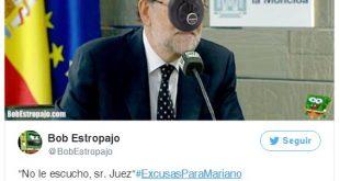 Excusas para Mariano Rajoy