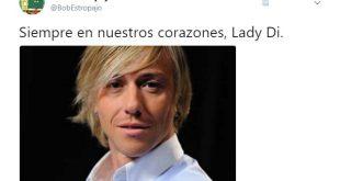 Lady Di confundida con Guti del Real Madrid